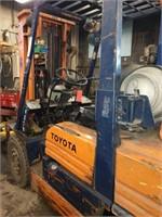 Toyota fork lift