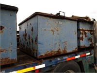 Trailer w/ Simon forms & Container w/ hardware
