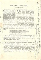 Houdini, Harry. Article signed by Houdini