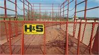 H&S 9'x18' Hay Rack