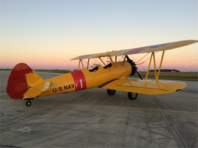BOEING/STEARMAN E75 For Sale In Rockford, Illinois