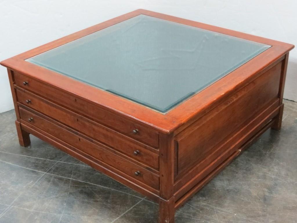 Swell Lexington Bob Timberlake Square Coffee Table Hibid Auctions Frankydiablos Diy Chair Ideas Frankydiabloscom