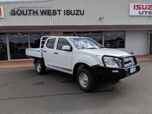 2019 Isuzu UTE D-Max 4x4 Sx Crew Cab Chassis Light Commercial for Sale