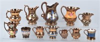 GENERAL ANTIQUES, GLASS, CLOCKS, TOYS, & MORE
