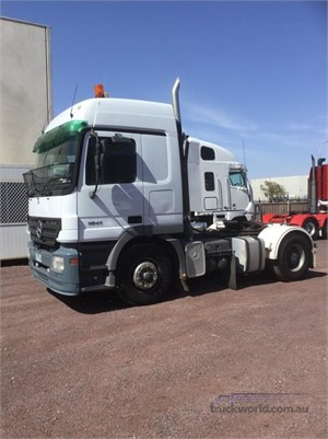 2005 Mercedes Benz Actros 1841 Hume Highway Truck Sales - Trucks for Sale