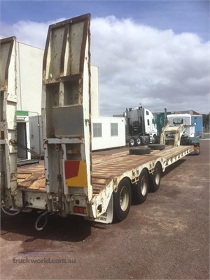 1989 Lusty Low Loader Platform Hume Highway Truck Sales - Trailers for Sale
