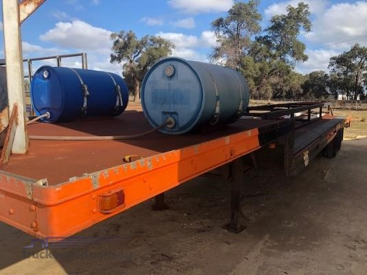 1987 Custom 40FT Drop Deck Semi Trailer - Trailers for Sale