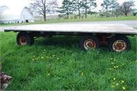 NH 310 Baler and Tandem Wagon