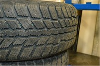 Set of (4) Weathermax Arctic Winter Tires on Rims