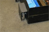 HD Steel Wheeled Storage Box with Contents