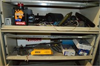 Filing Cabinet with Contents - Car Stereos, Parts,