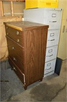 Filing Cabinet with Contents and 4 Drawer Dresser
