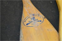 (2) Wood Paddles