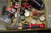 Tray of Assorted Tools, etc.