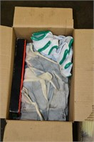 (2) Boxes of Assorted Gloves & Rags
