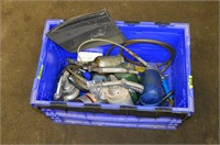 Tote of Paint Sprayers
