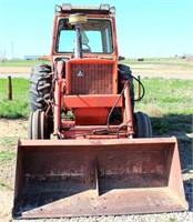 Allis Chalmers 185 w/FE Loader (view 2)