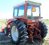 Allis Chalmers 185 w/FE Loader (view 3)