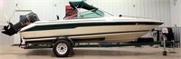 Sea Ray Boat, fish & ski, 135 hp outboard motor, new lower unit on motor, runs great, w/SA bumper-pull trlr, new tires
