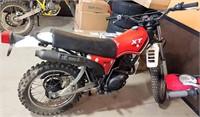 Yamaha 200 Enduro Motorcycle