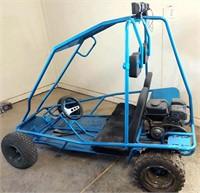 Go-Cart, 6-hp, restored