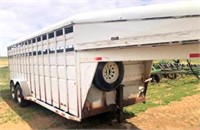 1995 Stock Trailer, GN (view 3)