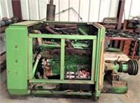 JD 6600 Combine Engine