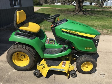JOHN DEERE X500 For Sale - 115 Listings | TractorHouse com - Page 1 of 5