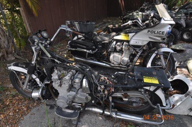 1997 Kawasaki Kz1000 Police Motorcycles (2)   Bidera LLC