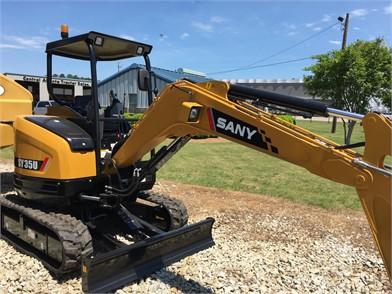 SANY Mini (Up To 12,000 Lbs) Excavators For Sale - 122 Listings
