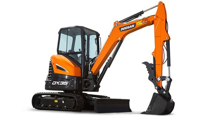 Doosan Breaks Out Three New 35 To 5 Ton Mini Excavators