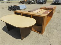 Large Lot of Misc. Office Furniture Including: