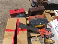 Large Lot of Assorted Police Evidence, Hand Tools,