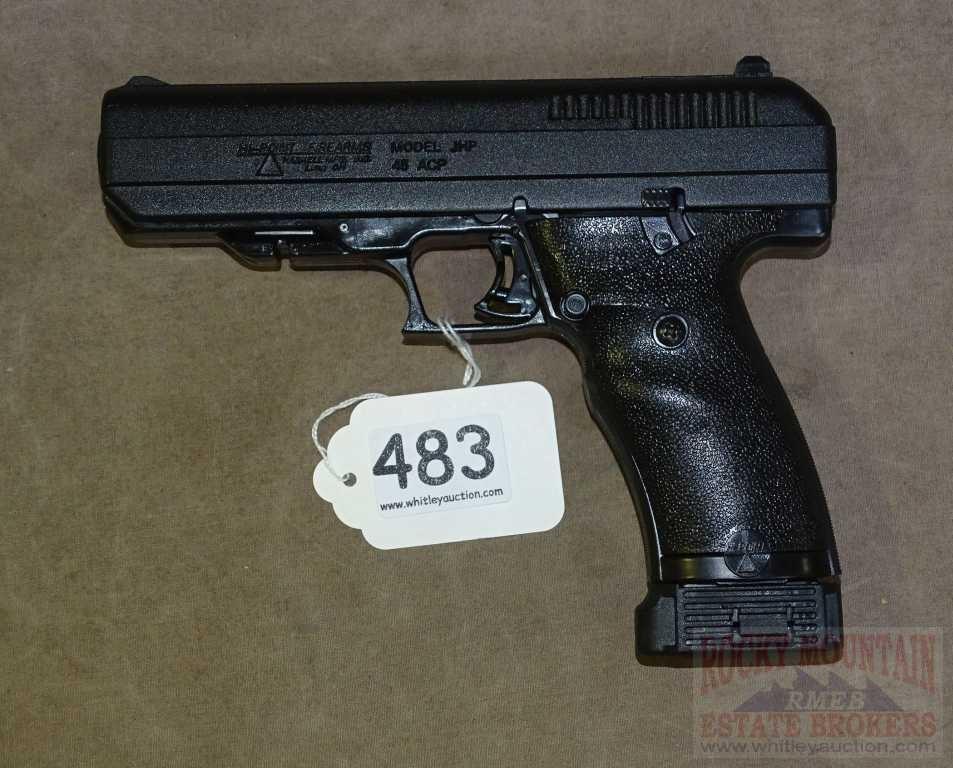 New Hi-Point JHP  45 ACP Semi-Auto Pistol  | Auctioneers Who