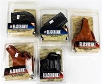 Firearm Lot of Blackhawk Holsters