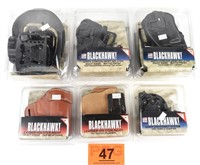 Lot of Blackhawk Serpa Concealment Holster, New