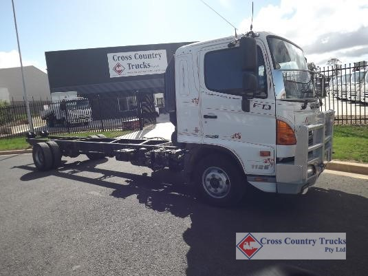 2016 Hino 500 Series 1126 FD Cross Country Trucks Pty Ltd - Trucks for Sale