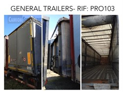 GENERAL|TRAILERS GENERAL TRAILERS CENTINATO ALLA FRANCESE  used