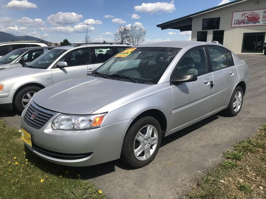 2006 Saturn Ion 2 Post Falls Auto Auction No more worrying about the complexities of selling or buying, because, at post falls auto auction, we make it easy and painless no matter what side of the. auctions