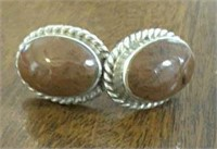 Sterling Silver Earrings From Mexico