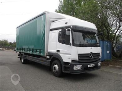 2014 MERCEDES-BENZ ATEGO 1521 at TruckLocator.ie