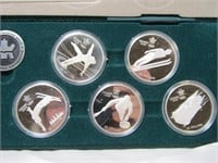 CALGARY OLYMPICS STERLING $20 COIN SET