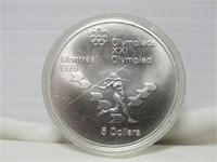 MONTREAL 1976 $5 SILVER COIN
