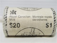 ROLL 1984 $1 CANADIAN COINS