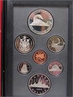 1986 CANADIAN PROOF SET
