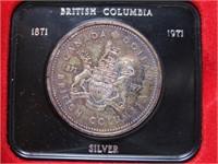 1971 CANADIAN CASED SILVER DOLLAR