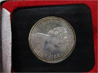 1971 CANADIAN CASED SILVER DOLLAR