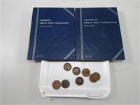 TRAY: CANADIAN SMALL CENT BOOKLETS & LARGE