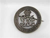 TRAY: 3 ASST. MILITARY BADGES