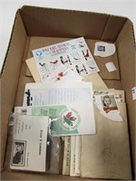 EARLY LETTERS & STAMPS, ETC.